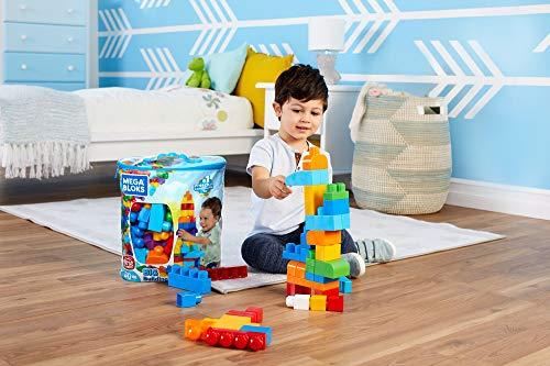 Large Product Image of Mega Bloks 80-Piece Big Building Bag, Classic