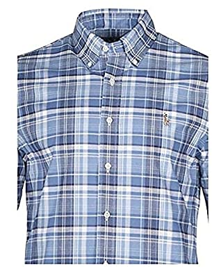 Ralph Lauren Big & Tall Men's Button down Shirt Casual Plaid XLT