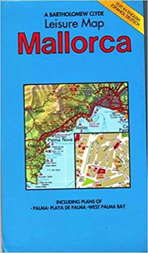 Majorca Map Leisure Map Holiday Maps English German And Spanish
