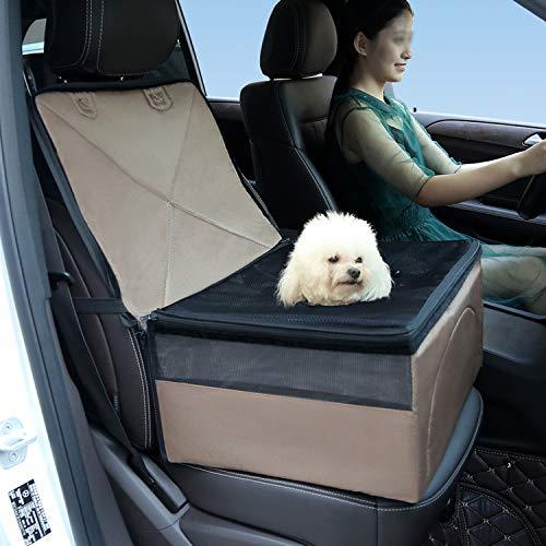 Q01 House - MZjJPN Pet Mat Bed for Car Dog Puppy Seat Protector Pet Car Blanket House Waterproof Non-Slip Mat Basket Dog Car Carriers,Brown,L