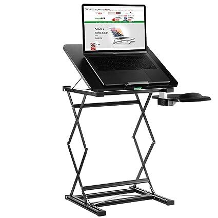 Tables ZR-Wall - Escritorio de Escritorio para Ordenador portátil, Banco de Trabajo elevable