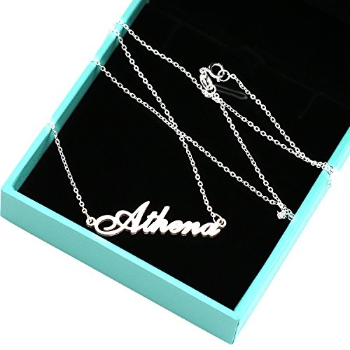 5bc2652309593 Custom Name Pendant Necklace Personalized Necklace 925 Sterling ...