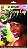 Product review for Beauty Town Satin Sleep Cap - Coconut Oil Treated - Black