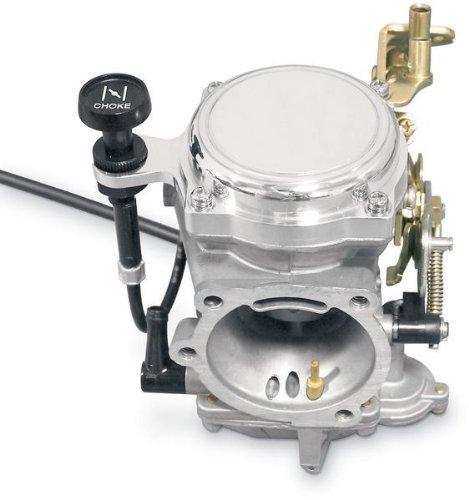 (Yost Performance CV Carburetor Top Cover - Smooth with Choke Cable Bracket YCCB-NL)