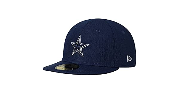 Amazon.com   Dallas Cowboys New Era Infant My First 59FIFTY Fitted Hat Navy    Sports   Outdoors e50066a8c