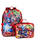 "Best AVENGERS Book Bags - Marvel Avengers 16"" Backpack With Detachable Matching Lunch Review"