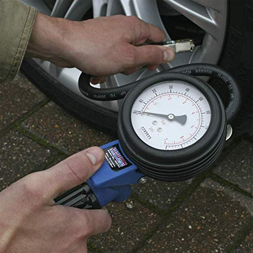 Sealey SA9303 Jumbo Tyre Inflator with Clip-On Connector