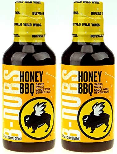 Buffalo Wild Wings Barbecue Sauce - Honey BBQ - 20 Fl. Oz. (2 Pack) (Best Wing Sauce At Buffalo Wild Wings)