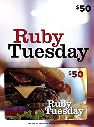 Ruby Tuesday Gift Card Ruby Tuesday' s