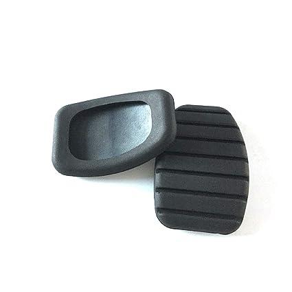 Vosarea Cubierta del cojín de Goma del Pedal de Freno del Embrague del Coche para Renault