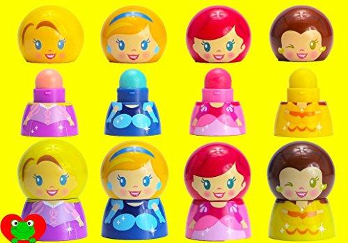 Disney Princess Lip Balm Pack - 4 Flavors
