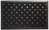 Animals Favorite Pet Retractable Safety Gate, Indoor and Outdoor Protection (Black Pad)