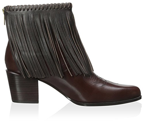 Bootie Women's Muller Chocolate Fringe Bettye xYZTnOwY