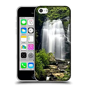 Super Galaxy Coque de Protection TPU Silicone Case pour // V00000343 Meigs Falls Grandes Montañas Humeantes // Apple iPhone 5C