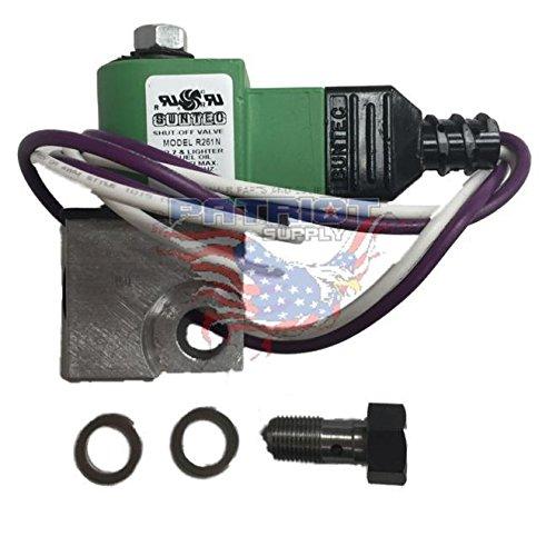 (12 Volt DC Fuel Solenoid Valve R261N)