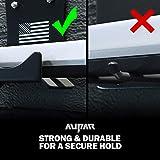Door Storage Hangers with Scratch-Resistant Rubber