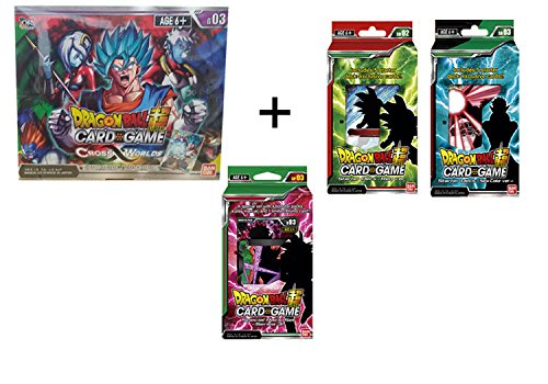 2018 Series 3 Cross Worlds Dragon Ball Super Combo! Booster Box+ Decks + Special by Dragonball