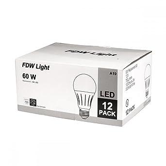 12 unidades 60 W 3000 K LED de ahorro de energía bombilla de luz ...