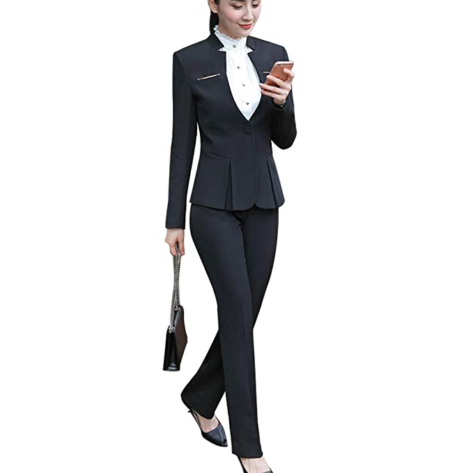 Amazon.com: Juego de chaqueta y pantalón de manga larga para ...