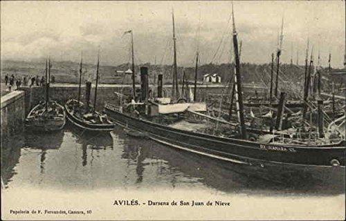 Amazon.com: Darsena de San Juan de Nieve Aviles, Spain ...