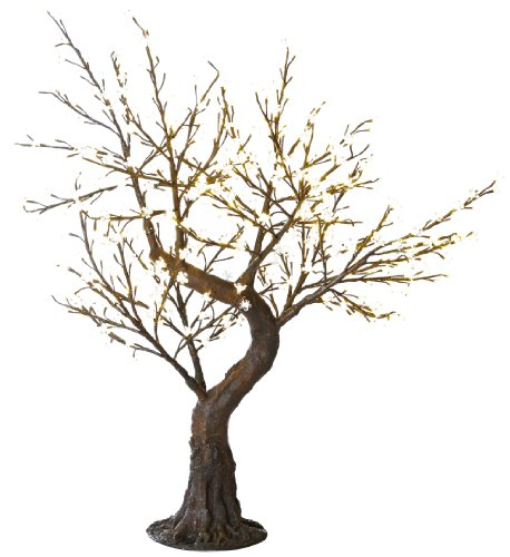 Arclite NBL-B145 Bonsai Cherry Blossom Tree with Leaves, ...