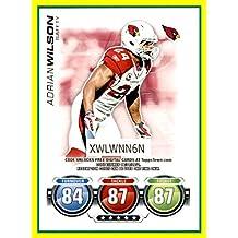 2010 Topps Attax Code Cards #50 Adrian Wilson ARIZONA CARDINALS