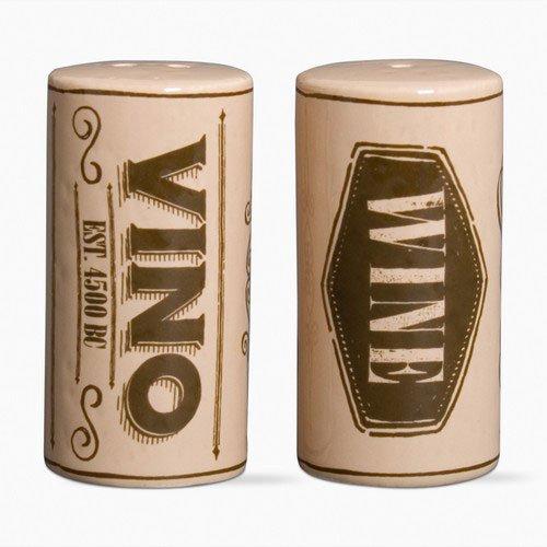 Tag 203699 Wine Corks Salt & Pepper Shakers, 2.5 x 1.25
