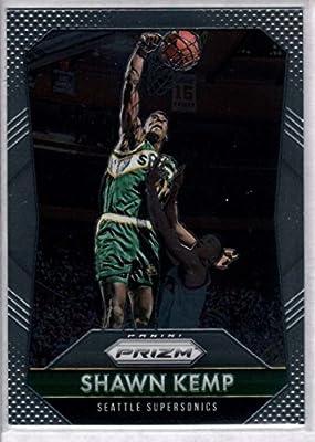 cc0211053f3c6 Amazon.com: 2015-16 Panini Prizm Basketball #270 Shawn Kemp Seattle ...