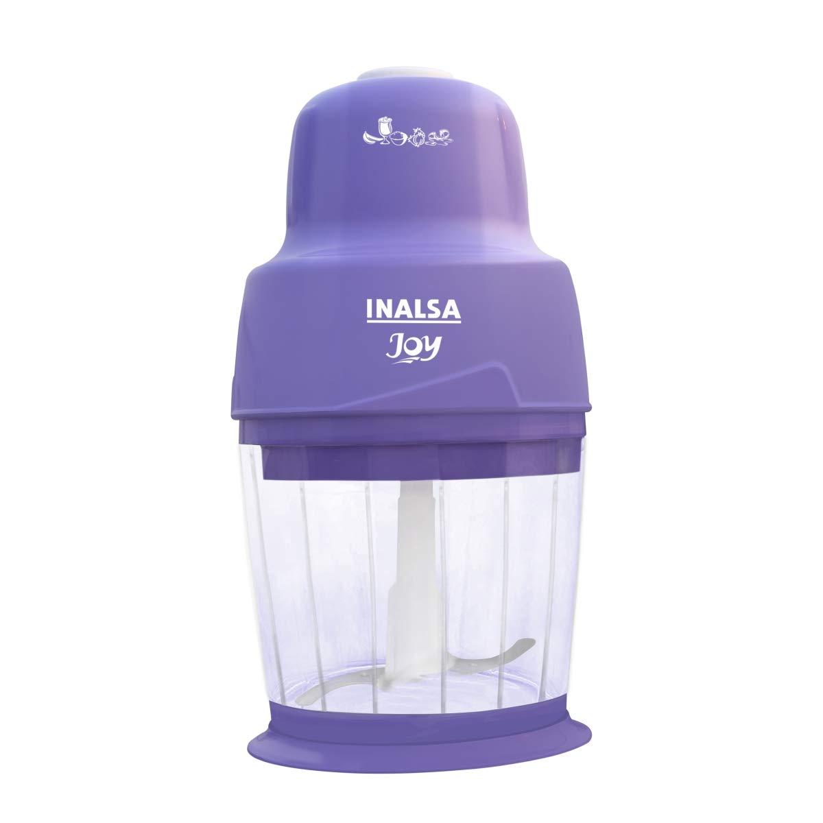 Inalsa Joy 250-Watt Mini Chopper (White And Purple)