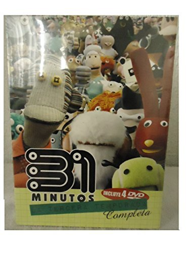 31 Minutos Tercera Temporada Completa 4 DVDs