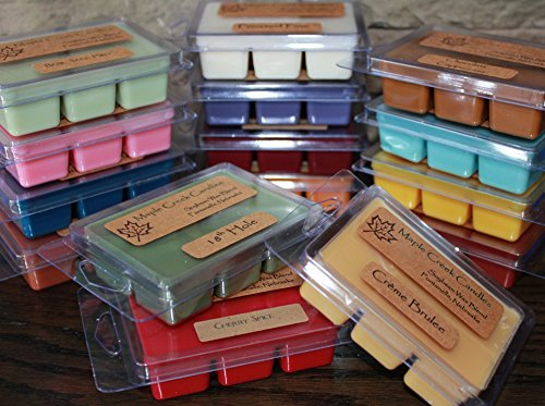 Maple Creek Candles CHOCOLATE COVERED CHERRIES ~ Cherries & Milk Chocolate ~ Soy Wax Blend ~ Wax Melts ()