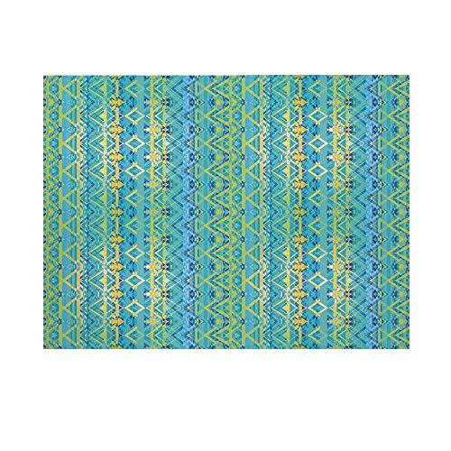 Geometric Photography Background,Aztec Retro Zigzag Primitive Traditional Heritage Hippie Design Decorative Backdrop for Studio,15x10ft