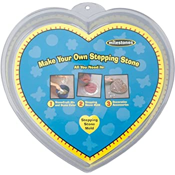 Midwest Products Large Heart Stepping Stone Mold, 12-Inch