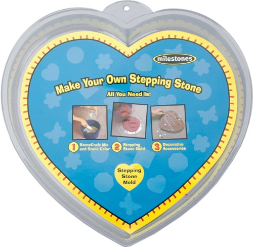 Midwest Products Large Heart Stepping Stone Mold, 12-Inch (90723123)]()
