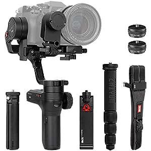 Zhiyun WEEBILL LAB 3-axis Handheld Gimbal Stabilizer for Sony A7S A7M3 A7R3 A7R2 A7S2 A6500 A6300 Panasonic GH5 GH5s Mirrorless Cameras (Creator Package - Phone Holder & Servo Follow Focus Included)