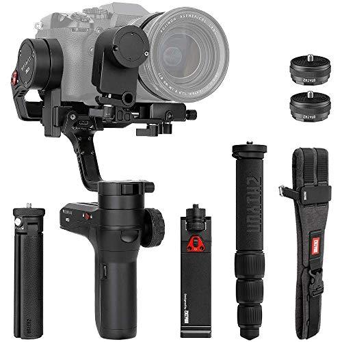 Zhiyun WEEBILL LAB 3-axis Handheld Gimbal Stabilizer for Sony A7S A7M3 A7R3 A7R2 A7S2 A6500 A6300 Panasonic GH5 GH5s Nikon Z6 Z7 Cameras (Creator Package - Phone Holder & Servo Follow Focus Included)