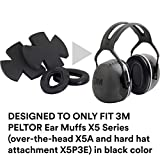 3M PELTOR X5 Ear Muffs Replacement Cushions and