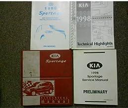 1998 1999 kia sportage electrical troubleshooting service repair