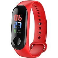 Rastreador de Ejercicios, Smart Bluetooth Sport Waterproof Rastreador de Ejercicios Reloj Inteligente con Ritmo cardíaco…