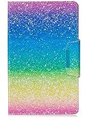 MUTOUREN Funda Samsung Galaxy Tab T590 Tapa Trasera Función de Soporte de Protección Carcasa Plegable Resistente a Arañazos y Caídas Ultra Fino Protectora de Cuero PU Colores Múltiples