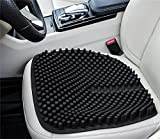 Massage Car SeatCushion,Breathable Auto Seat Cushion,Waterproof non-slip Office ChairSeat Pad,Comfortable for Truck Wheelchair Airplane blench, Relieve Back Sciatica Coccyx and Tailbone Pain (black)