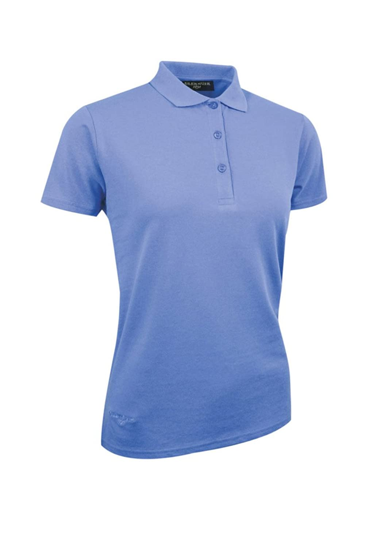 Glenmuir Sophie Ladies Pique Polo Shirt Ladies Light Blue L