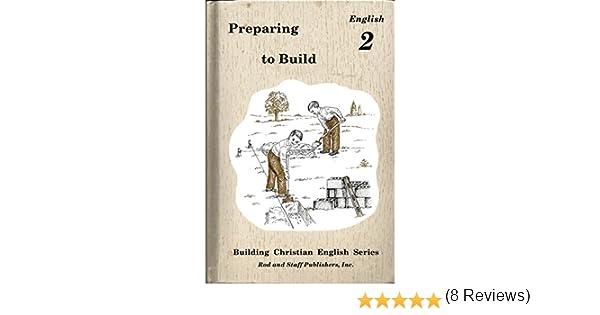 Preparing to Build : English 2: Rachel Christopher: 9780739905081 ...