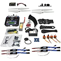 QWinOut Full Set DIY RC Drone Quadcopter: X4M380L Frame Kit + APM2.8 Super Flight Control + Flysky FS-i6 6CH Transmitter