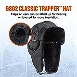 Ergodyne-N-Ferno-Classic-Black-Trapper-Hat