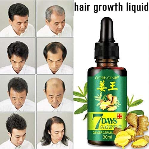 AIMERKUP Hair Growth Essence Liquid 30ml Fast Restoration Hair Natural Hair Loss Treatment Nutrition Tool for Women Men Everyday