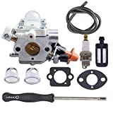 Atoparts Carburetor with Adjustment Tool for Stihl FS40 FS50 FS56 FS70 FC56 FC70 Replaces Zama C1M-S267A