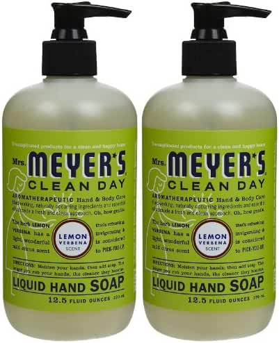Liquid Hand Soap, Lemon Verbena, 12.5 oz, 2 pk