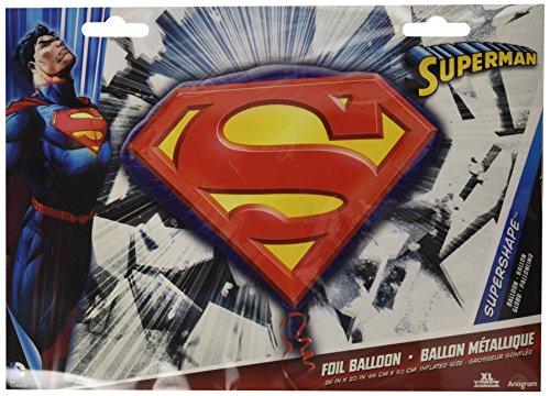 (Anagram International Superman Emblem Pack,)