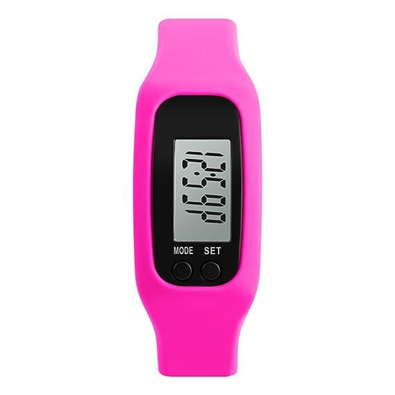 Reloj digital de los niños/ tabla de contador de paso de deportes al aire libre/ reloj de múltiples funciones de la personalidad-B: Amazon.es: Relojes